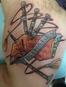 Bagpipe-Scottish-Tattoo-Designs