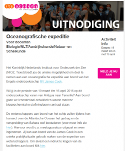 Expeditie-Uitnodiging